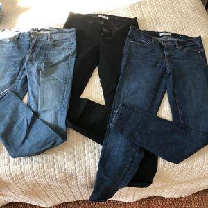 LOFT skinny jeans, size 2